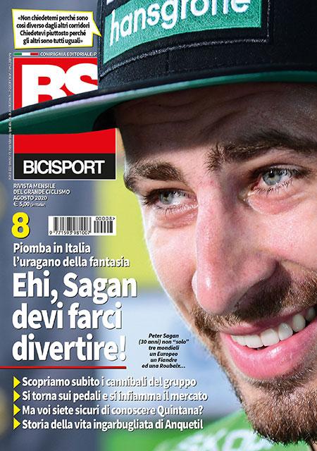 copertina bicisport agosto 2020