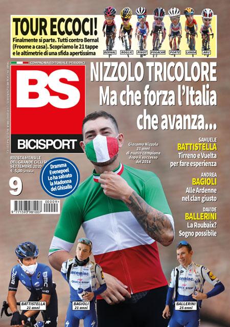 copertina bicisport settembre 2020