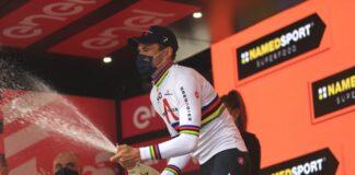 Ganna Giro d'Italia podio