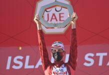 Tadej Pogacar UAE Tour 2021 vittoria