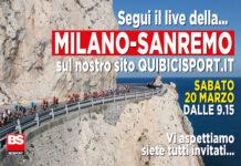 Milano-Sanremo diretta live quibicisport.it Bicisport 2021
