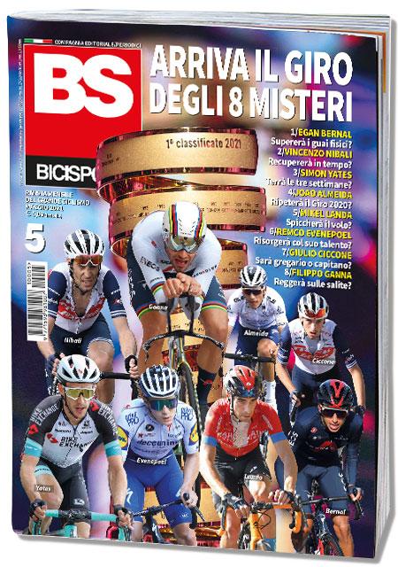 Copertina Bicisport aprile 2021