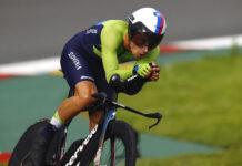 Primoz Roglic alle Olimpiadi di Tokyo (foto: Vision/BettiniPhoto)
